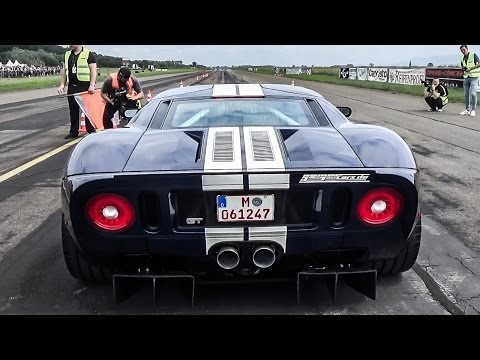 1000HP FORD GT - BRUTAL ACCELERATIONS!