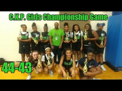 CKP Girls vs University School of Jackson (USJ) championship game