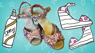 Kijk Pimp je zomer sandalen filmpje
