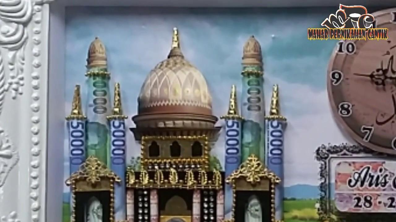 Cara Sederhana Membuat Kubah Mahar Masjid