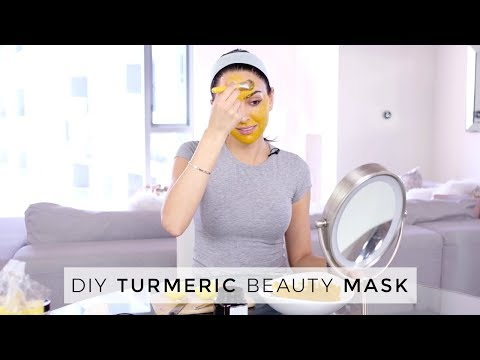 Turmeric DIY Beauty Mask | Dr Mona Vand