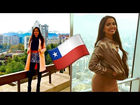 My Adventures in Santiago! | Chile Travel Vlog 2016 | Isabel Palacios