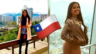 My Adventures in Santiago! | Chile Travel Vlog 2016 | Isabel Victoria