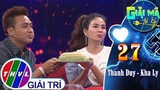 THVL   Vừa hát vừa ăn bánh tét-Hình phạt dễ dàng dành cho Thanh Duy, Kha Ly   Giải mã tri kỷ -Tập 27