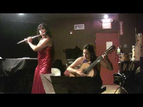 Flutist Viviana Guzman & guitarist Zaira Meneses