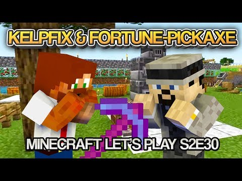 Kelpfix & Fortune-Pickaxe