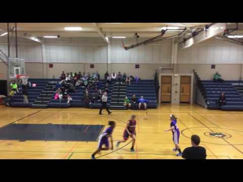 Sabrina basketball Tefft middle school versus Eastview 2/6 1