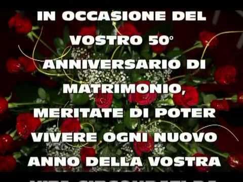 Anniversario di matrimonio youtube for Auguri per 25 anniversario di matrimonio