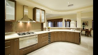 Modern Kitchen Design Ideas With Wooden Cabinets  Plan N Design