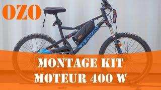 Notice de montage kit électrique 400W OZO pour vélo PART 1