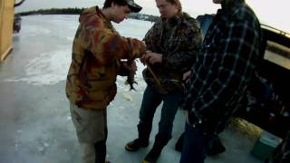 CRAZY ICE FISHING TRIP