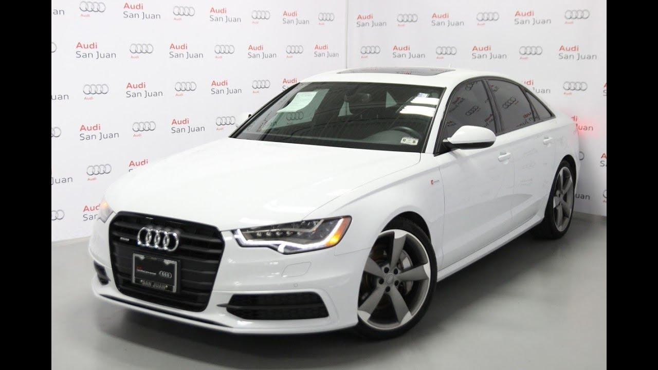2014 Audi A6 Prestige Cpo Youtube