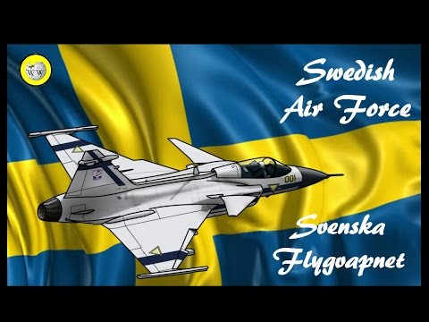 Svenska Flygvapnet - Swedish Airforce !