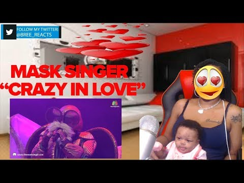 Crazy in love   หน้ากากเต่า   THE MASK SINGER 2 REACTION