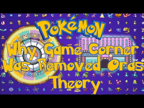 Pokemon Theory - Why Game Corner Was Closed In ORAS