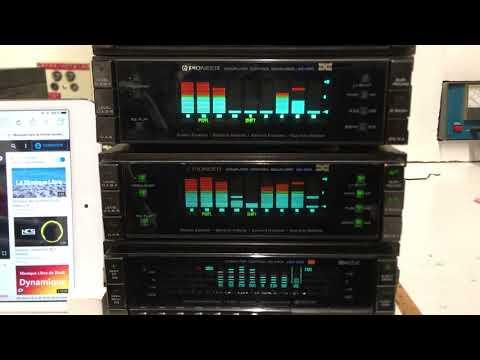 Restauration Pioneer KEX900+EQ400X3+EQ303+EQ600