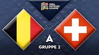 "Belgien - Schweiz (12. Oktober) | Nations League ""FIFA 19"