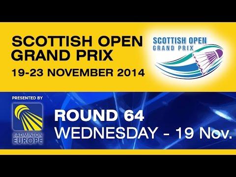 R64 - MS - Petr KOUKAL vs Daniel FONT - Scottish Open Grand Prix 2014