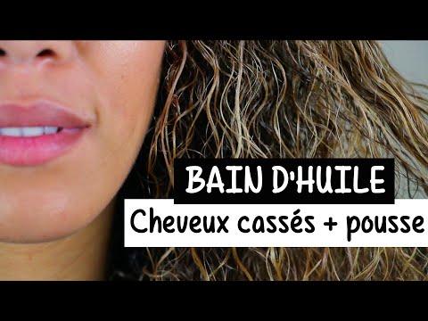 Soin capillaire : TOUS TYPES DE CHEVEUX - Bain d'huile hebdomadaire