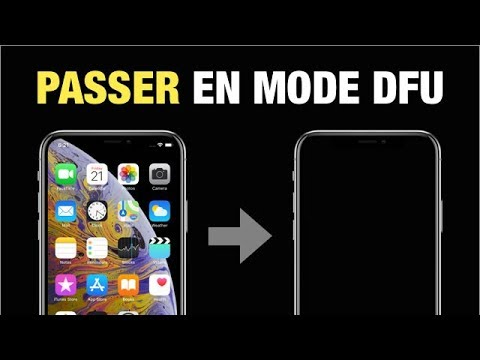 Comment Entrer en Mode DFU iPhone XS/XS Max/XR