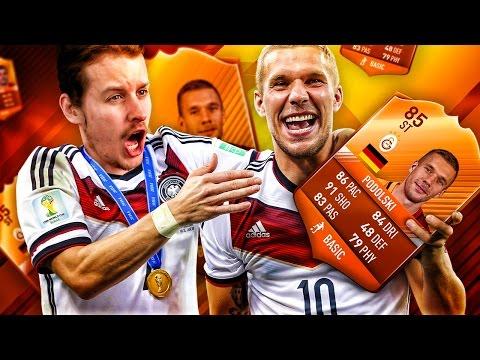 FANTA MOTM STRIKER LUKAS PODOLSKI! THE BEST GERMAN STRIKER IN FIFA HISTORY! FIFA 17 ULTIMATE TEAM