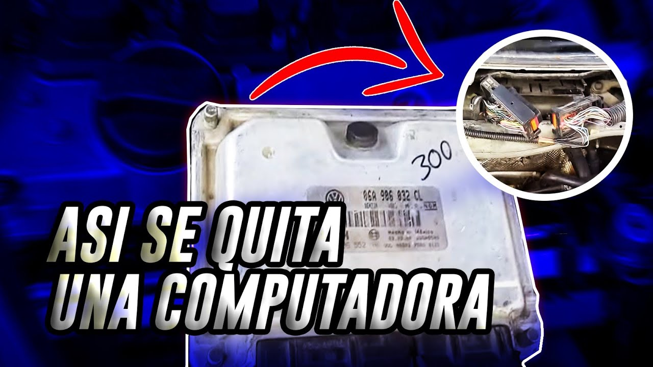 Como Quitar La Computadora How To Replace The Ecu 1 8t