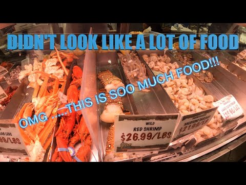 SAN PEDRO LONG BEACH FISH MARKET SEA FOOD HOW TO ORDER & WHAT TO EXPECT SOUTHERN CALIFORNIA