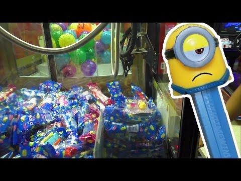 PEZ Candy Dispensers - Claw Machine Wins