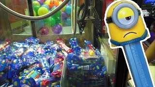 PEZ Candy Dispensers - Claw Machine Wins