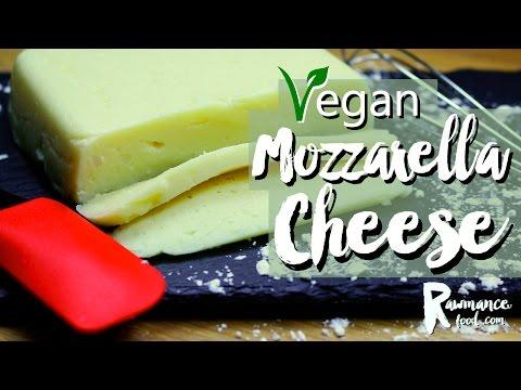 VEGAN MOZARELLA CHEESE RECIPE | Vegan Pizza Cheese | Gluten Free