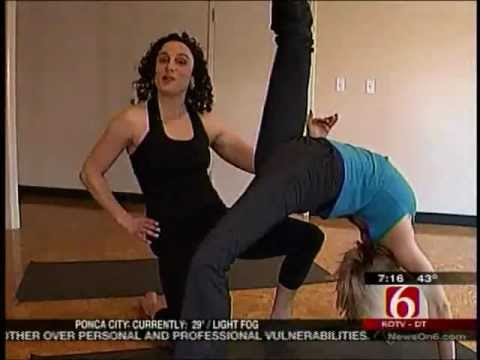 Yoga for Friends- Meghan Donnelly Yoga with KOTV News on 6