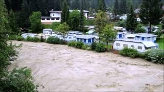 Overstromingen in het Brixental - 31 Juli 2014