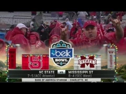 NC State vs Mississippi State - Belk Bowl 2015