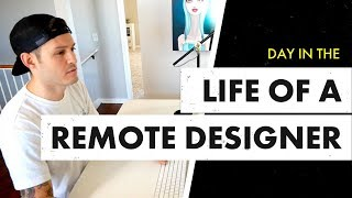 Day in the Life of a Remote Designer | Jesse Showalter Vlog