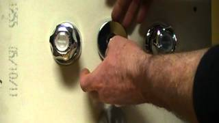 How to repair or fix a bath and shower faucet..little water going to shower head. Plumbing Tips