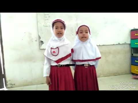 Siswa menyanyikan lagu-lagu wajib dan nasional Indonesia | belajar terus ya | tinjowan ujung padang