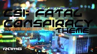 "TV/Video Game Score Theme - CSI:Fatal Consp. - ""Crime Case Instrumental"" - Produced by Rijan Archer"