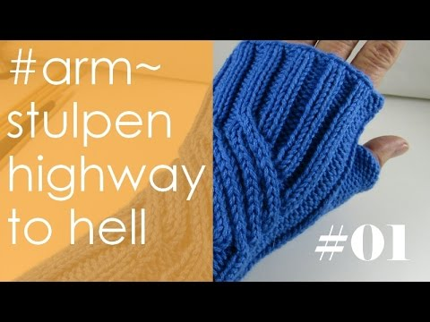 Stricken Mit Elizzza Armstulpen Highway To Hell Teil 1 Linke