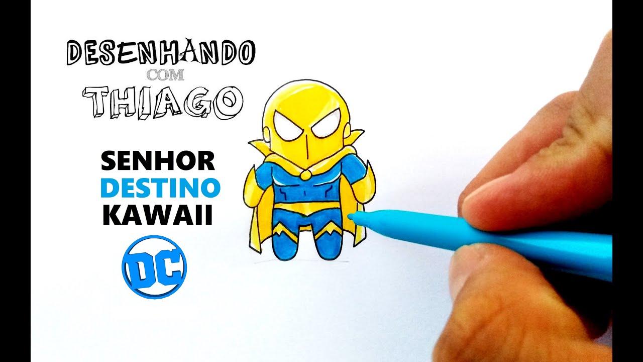 SENHOR DESTINO - KAWAII (Desenhando com Thiago)