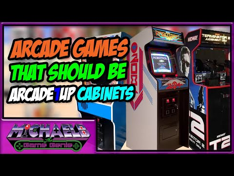 Arcade Games that SHOULD be Arcade1Up Cabinets | MichaelBtheGameGenie from MichaelBtheGameGenie