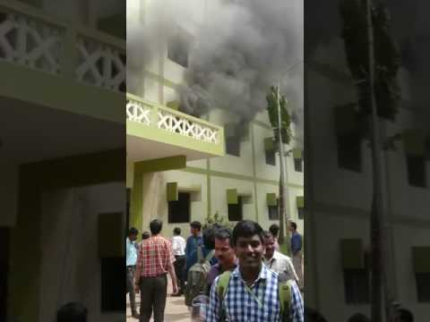 fire accident in velammal engg college