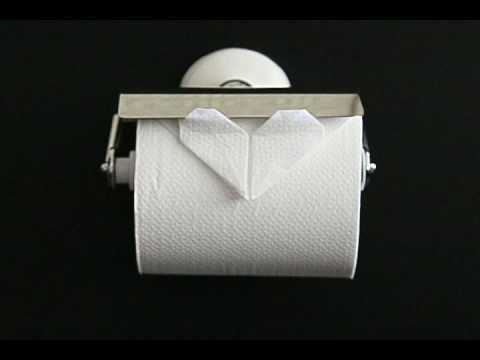クリスマス 折り紙 トイレットペーパー 折り紙 : youtube.com