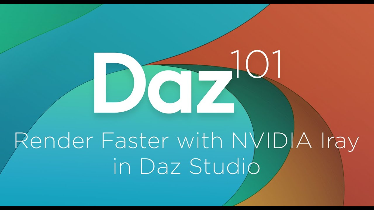 How To Render Faster in Iray - Daz Studio Free 3D Software Suite