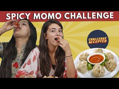 Delhiites Finish Momos Under 1 Min| Challenge Accepted #15