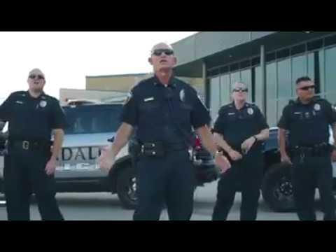Crandall Police Lip Sync Gods Not Dead  the Newsboys