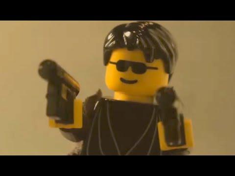 The Matrix Fight Scene with LEGOS! | What's Trending Now