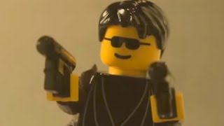 The Matrix Fight Scene with LEGOS! | What's Trending Now
