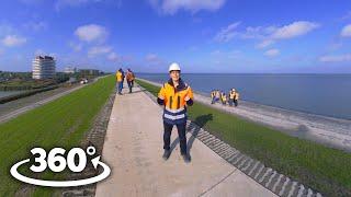 360°/VR Dijkverbetering Eemshaven-Delfzijl - Deel 4