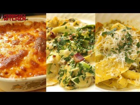 zucchini-spaghetti-pasta-|-3-different-ways-|-keto-recipes-|-headbanger's-kitchen