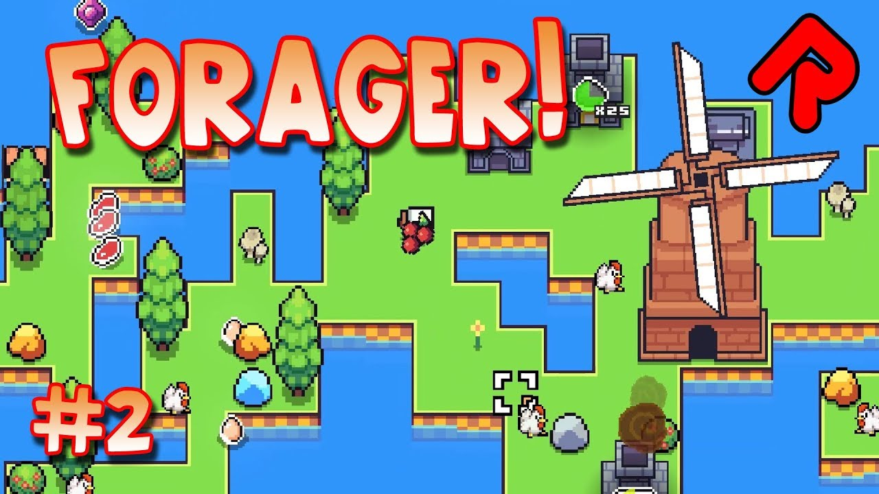 Forager Game Supercute Island Survival Let39s Play Forager